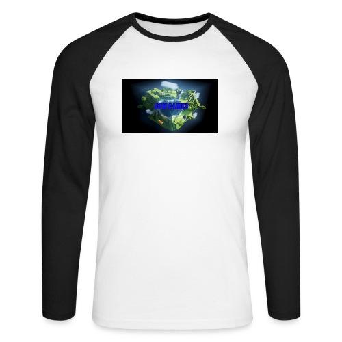 T-shirt SBM games - Mannen baseballshirt lange mouw