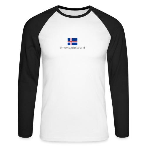 Iceland - Men's Long Sleeve Baseball T-Shirt