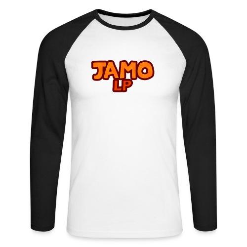 JAMOLP Logo T-shirt - Langærmet herre-baseballshirt