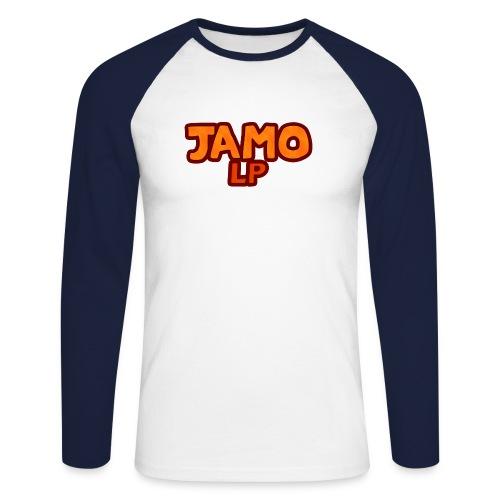 JAMOLP Logo Mug - Langærmet herre-baseballshirt