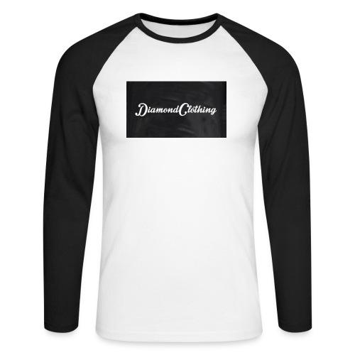 Diamond Clothing Original - Men's Long Sleeve Baseball T-Shirt