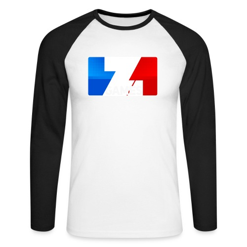 9815 2CZoominGames so MLG - Men's Long Sleeve Baseball T-Shirt