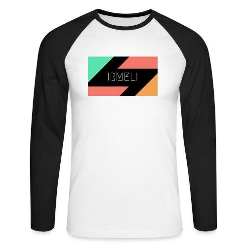 Irmelis Logo glothes - Miesten pitkähihainen baseballpaita