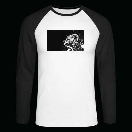 h11 - T-shirt baseball manches longues Homme