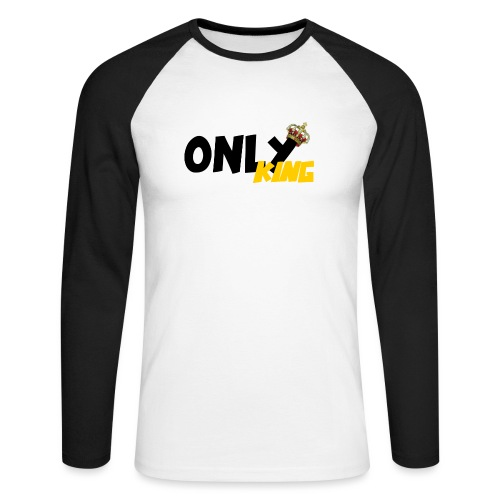 Only King - T-shirt baseball manches longues Homme