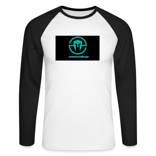 xxImmortalScope throwback - Men's Long Sleeve Baseball T-Shirt