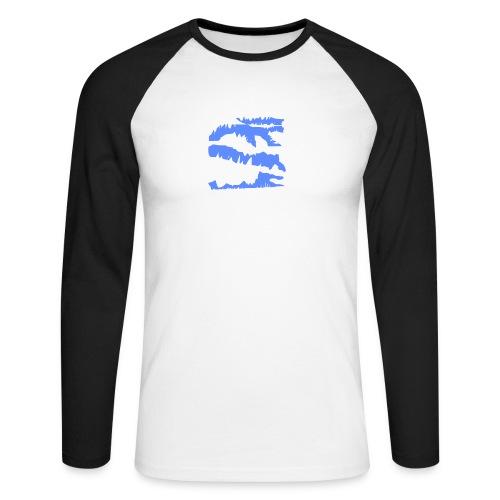Blue_Sample.png - Männer Baseballshirt langarm