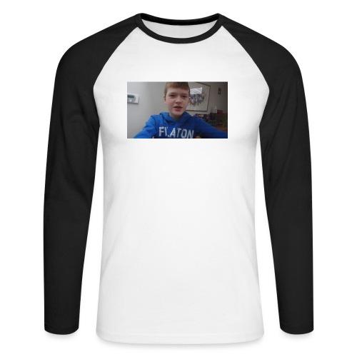 roel t-shirt - Mannen baseballshirt lange mouw