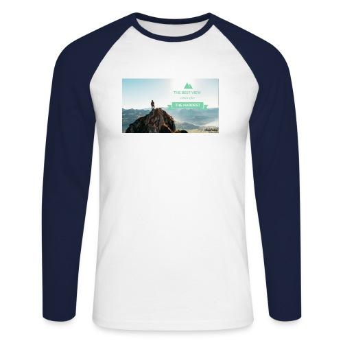 fbdjfgjf - Men's Long Sleeve Baseball T-Shirt