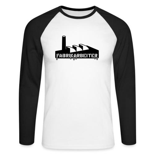 Fabrikarbeiter - Männer Baseballshirt langarm