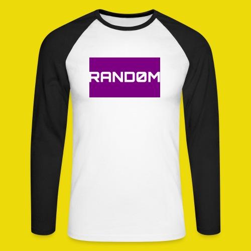 Random Logo - Men's Long Sleeve Baseball T-Shirt