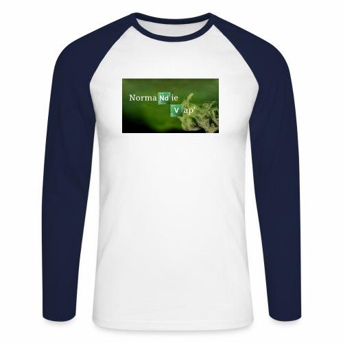 Normandie Vap' - T-shirt baseball manches longues Homme