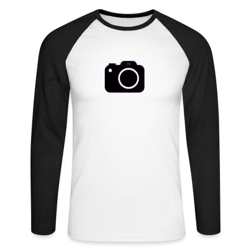 FM camera - Men's Long Sleeve Baseball T-Shirt