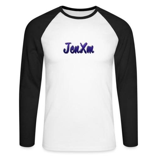 JenxM - Men's Long Sleeve Baseball T-Shirt