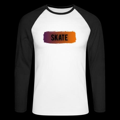 skate brush - Mannen baseballshirt lange mouw