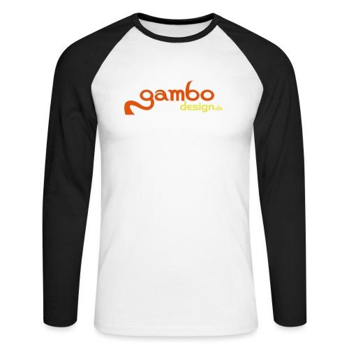 gambo design - Männer Baseballshirt langarm
