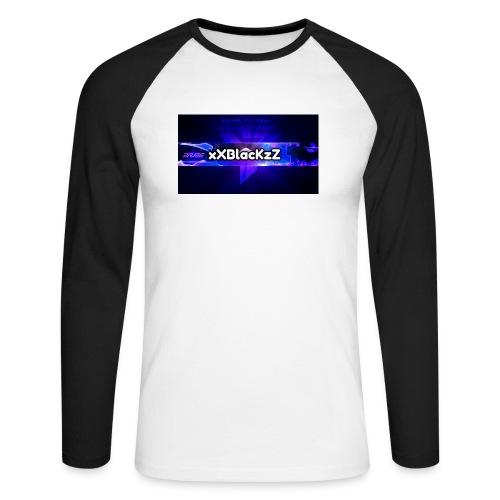 XxBlacKzZ - Männer Baseballshirt langarm