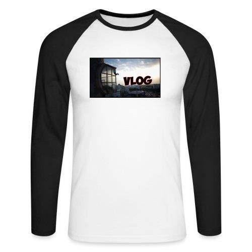 Vlog - Men's Long Sleeve Baseball T-Shirt