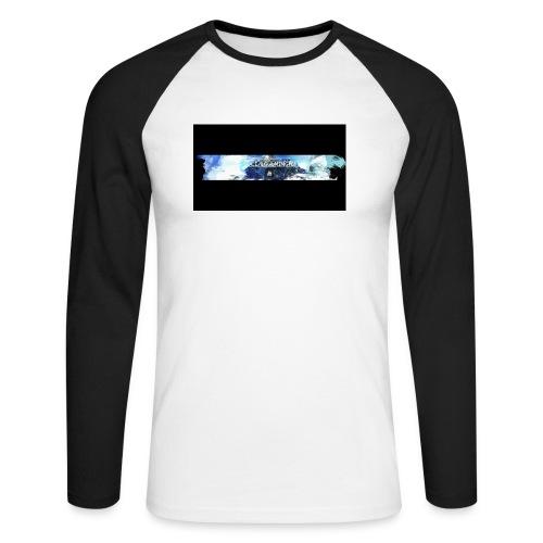 Limited Edition Banner Merch - Men's Long Sleeve Baseball T-Shirt