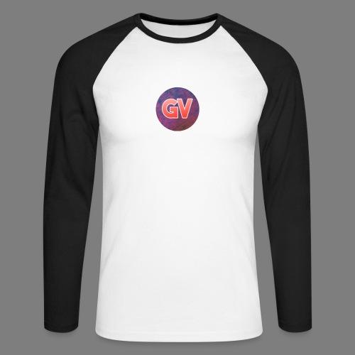 GV 2.0 - Mannen baseballshirt lange mouw