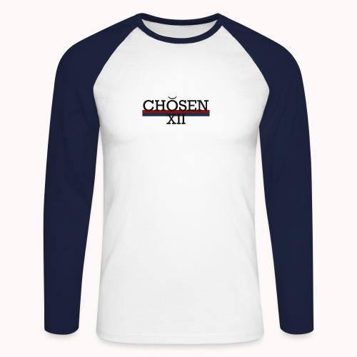 ChosenXII - Mannen baseballshirt lange mouw