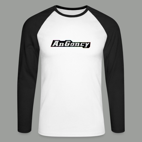 My new limited logo - Men's Long Sleeve Baseball T-Shirt