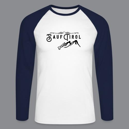Sauftirol Design - Männer Baseballshirt langarm