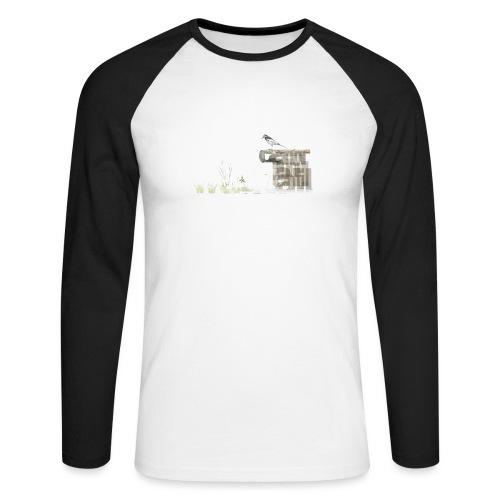 Wagtail - Men's Long Sleeve Baseball T-Shirt
