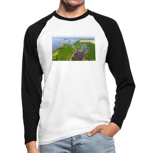Am Kis Balaton [2] - Männer Baseballshirt langarm
