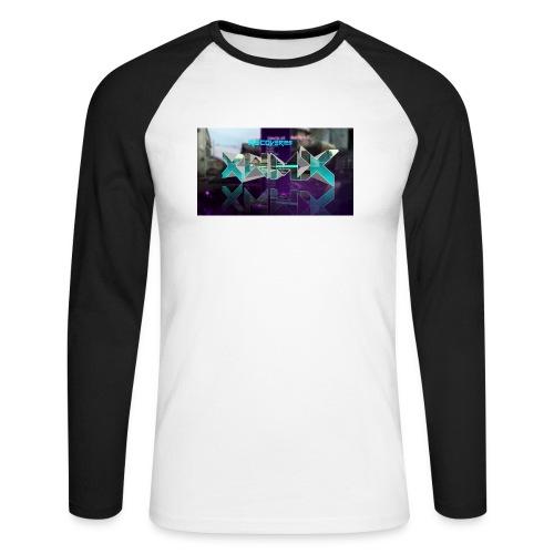 XZWhModzZX - Langærmet herre-baseballshirt