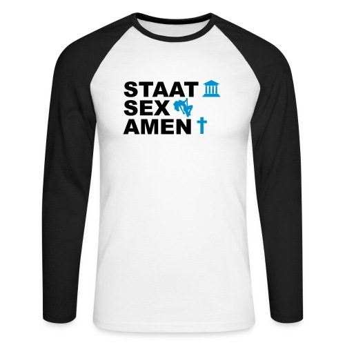 Staatsexamen / Staat Sex Amen - Männer Baseballshirt langarm