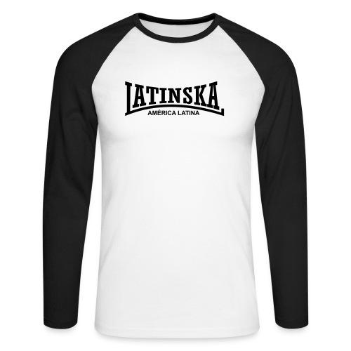latinska america latina - Männer Baseballshirt langarm