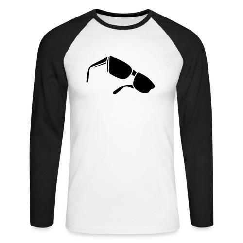 sunglasses dark glasses eighties porn cool sexy - Männer Baseballshirt langarm
