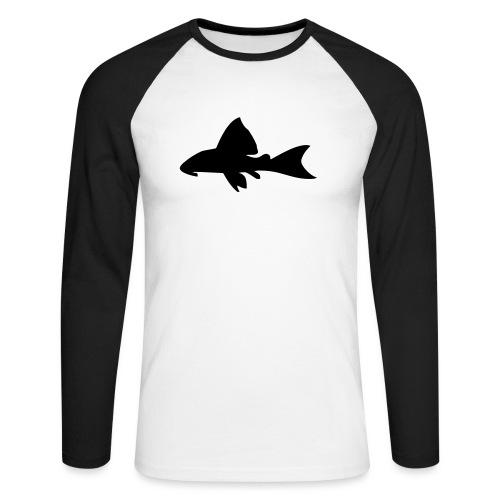 Malle - Langermet baseball-skjorte for menn