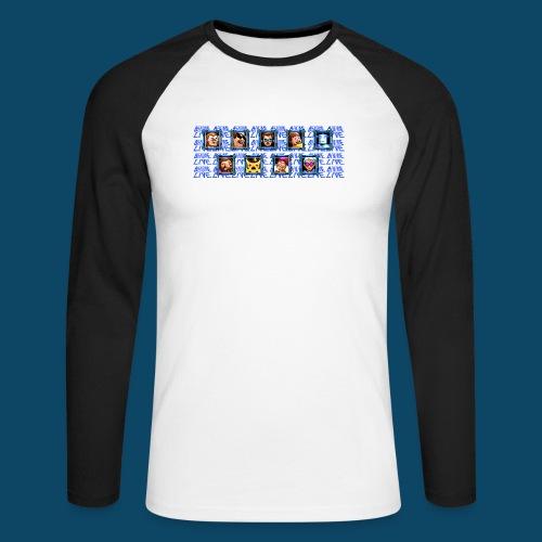 Benzaie LIVE - MUG - T-shirt baseball manches longues Homme