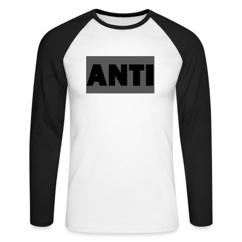ANTI - Männer Baseballshirt langarm