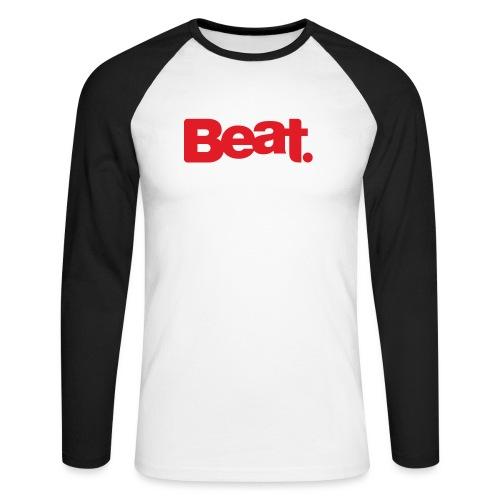 Beat Mug - Men's Long Sleeve Baseball T-Shirt