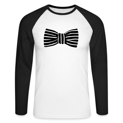 bow_tie - Men's Long Sleeve Baseball T-Shirt