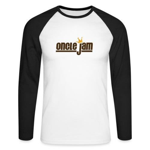 Oncle Jam horizontal brun - T-shirt baseball manches longues Homme