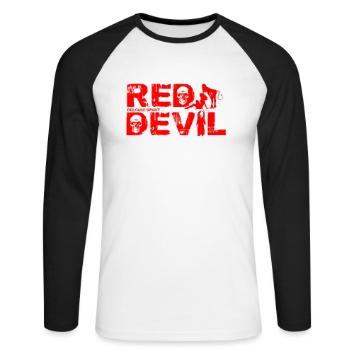 BELGIAN-RED-DEVIL - T-shirt baseball manches longues Homme