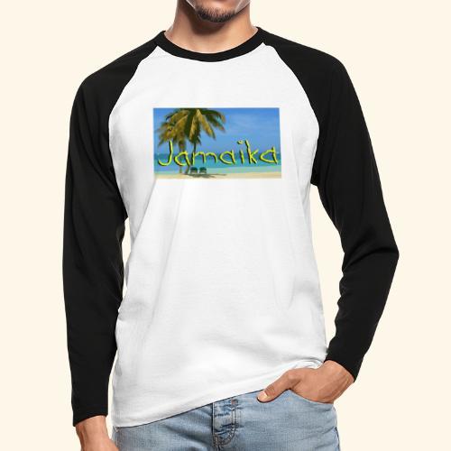 JAMAIKA - Männer Baseballshirt langarm