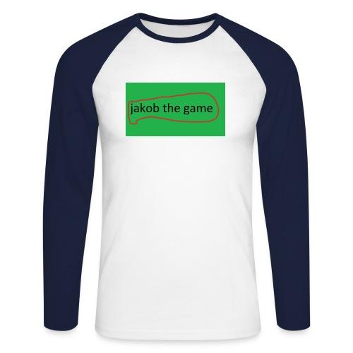 jakobthegame - Langærmet herre-baseballshirt