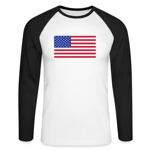 USA / United States - Mannen baseballshirt lange mouw