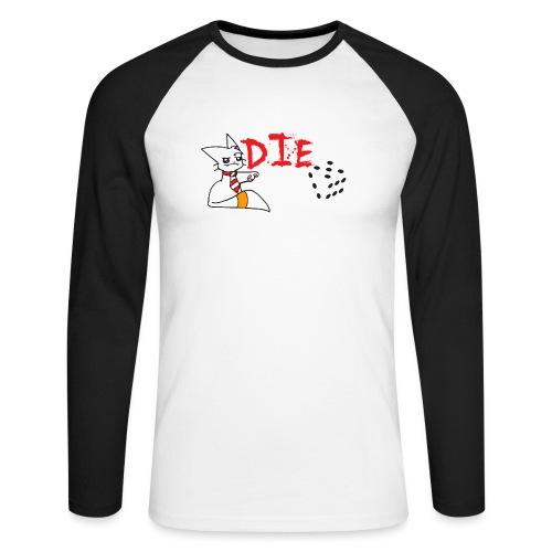DIE - Men's Long Sleeve Baseball T-Shirt