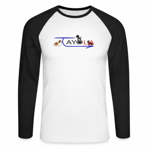 Tayola Black - T-shirt baseball manches longues Homme