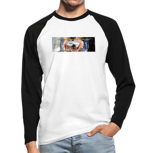 BIW-Cover - Mannen baseballshirt lange mouw