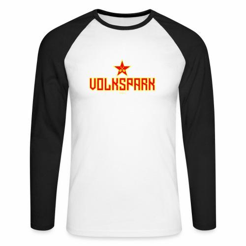 Volkspark - Mannen baseballshirt lange mouw