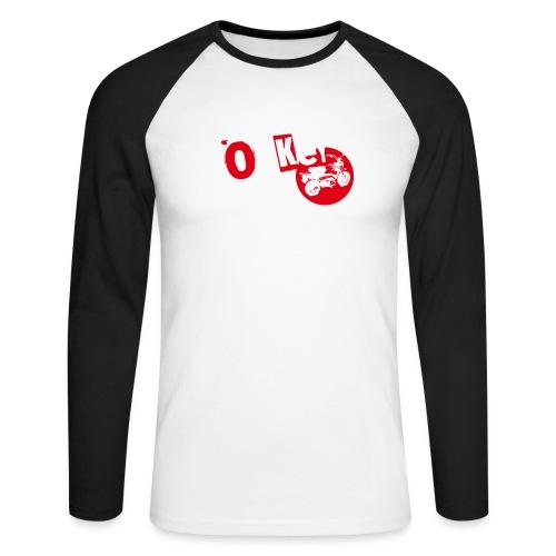 Monkey Around T-Shirt - Men's Long Sleeve Baseball T-Shirt