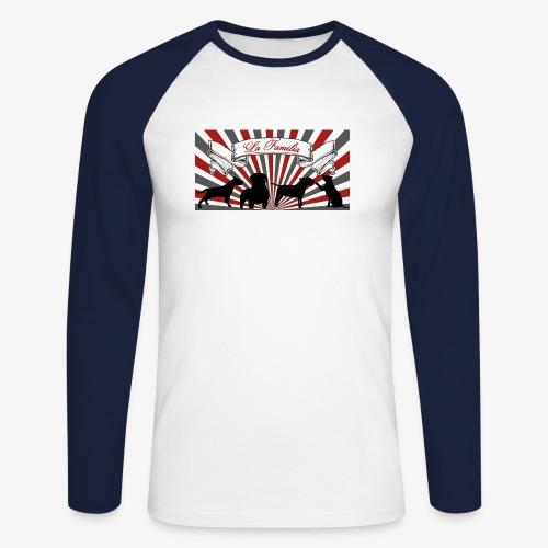 La Familia - Männer Baseballshirt langarm