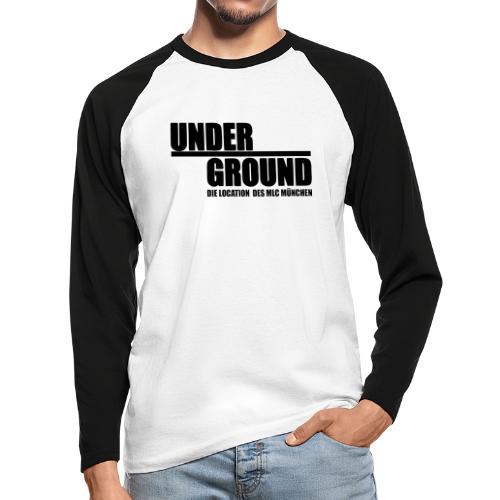MLC UnderGround - Männer Baseballshirt langarm